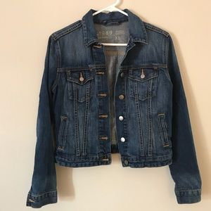 Gap Icon Jean Jacket in Country Blue